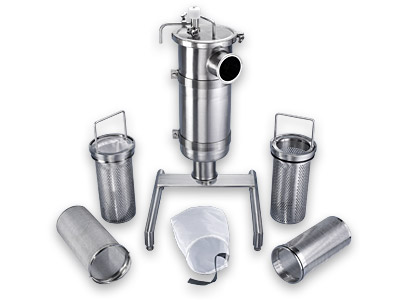 Andron Stainless Corporation - Sanitary Strainers