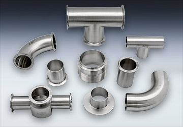 ④food grade stainless steel press fitting pipe fittings double
